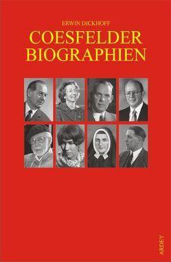 Coesfelder Biographien von Dickhoff,  Erwin
