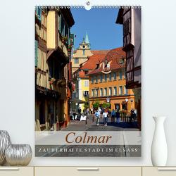 Colmar – zauberhafte Stadt im Elsass (Premium, hochwertiger DIN A2 Wandkalender 2020, Kunstdruck in Hochglanz) von Kröll,  Ulrike