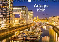 Cologne – Köln (Wandkalender 2018 DIN A4 quer) von G. Allgöwer,  Walter
