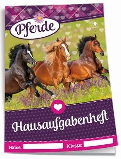 Color-Hausaufgabenheft für Schlaue Pferde