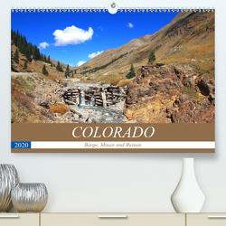 COLORADO Berge, Minen und Ruinen (Premium, hochwertiger DIN A2 Wandkalender 2020, Kunstdruck in Hochglanz) von S. Eyckelpasch,  eickys