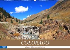 COLORADO Berge, Minen und Ruinen (Wandkalender 2019 DIN A2 quer) von S. Eyckelpasch,  eickys
