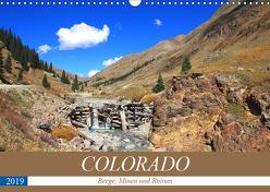 COLORADO Berge, Minen und Ruinen (Wandkalender 2019 DIN A3 quer) von S. Eyckelpasch,  eickys