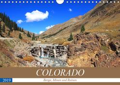 COLORADO Berge, Minen und Ruinen (Wandkalender 2019 DIN A4 quer) von S. Eyckelpasch,  eickys