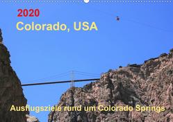 Colorado, USA – Ausflugsziele rund um Colorado Springs (Wandkalender 2020 DIN A2 quer) von Brunhilde Kesting,  Margaret
