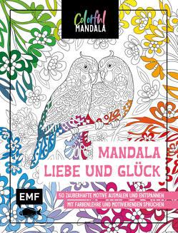 Colorful Mandala – Mandala – Liebe und Glück