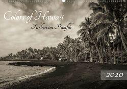 Colors of Hawaii – Farben im Pazifik (Wandkalender 2020 DIN A2 quer) von Krauss - www.lavaflow.de,  Florian