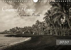 Colors of Hawaii – Farben im Pazifik (Wandkalender 2020 DIN A4 quer) von Krauss - www.lavaflow.de,  Florian
