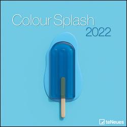 Colour Splash 2022 – Wand-Kalender – Broschüren-Kalender – 30×30 – 30×60 geöffnet – Farben