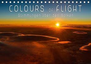 Colours of Flight – Stimmungen über den Wolken (Tischkalender 2018 DIN A5 quer) von Feiner,  Denis