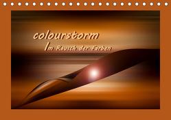 colourstorm – Im Rausch der Farben (Tischkalender 2020 DIN A5 quer) von Storm,  Wiebke