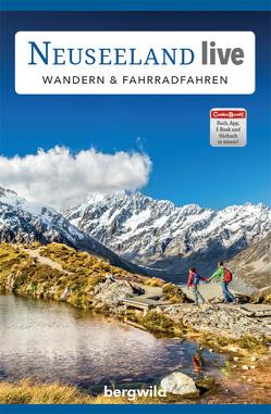 """ComboBOOK """"Neuseeland live: Wandern & Fahrradfahren"""" von Bergwild Verlag GmbH"""