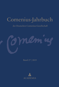 Comenius-Jahrbuch von Deutschen Comenius-Gesellschaft, Fritsch,  Andreas, Lischewski,  Andreas, Voigt,  Uwe