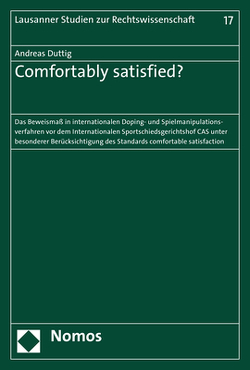 Comfortably satisfied? von Duttig,  Andreas