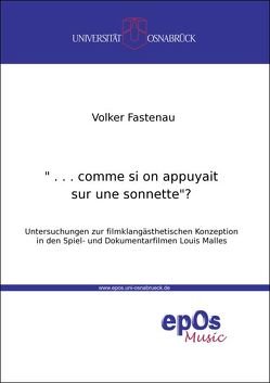 """… comme si on appuyait sur une sonnette""? von Fastenau,  Volker"