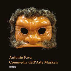 Commedia Masken von Messmer,  Franzpeter