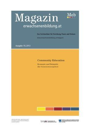 Community Education. Konzepte und Beispiele der Gemeinwesenarbeit von Werdecker,  Lena