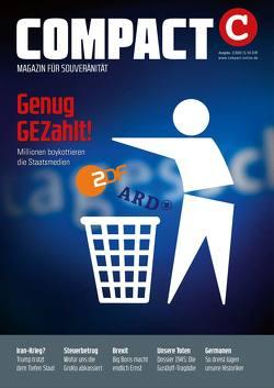 COMPACT 2/2020: Genug GEZahlt von Elsässer,  Jürgen