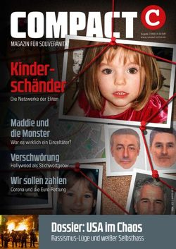 COMPACT 7/2020: Kinderschänder von Elsässer,  Jürgen