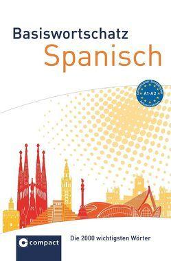 Compact Basiswortschatz Spanisch A1-A2 von de Miguel,  Carmen