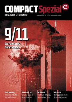 COMPACT Spezial 31: 9/11 – Der Putsch des Tiefen Staates von Elsässer,  Jürgen