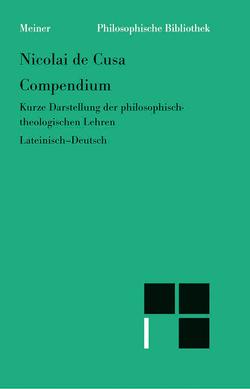 Compendium von Bormann,  Karl, Decker,  Bruno, Hoffmann,  Ernst, Nikolaus von Kues, Wilpert,  Paul
