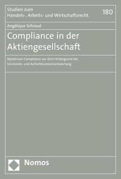 Compliance in der Aktiengesellschaft von Schraud,  Angélique