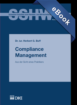 Compliance Management von Buff,  Herbert G
