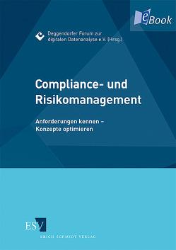 Compliance- und Risikomanagement von Preusche,  Reinhard, Romeike,  Frank, Schaupensteiner,  Wolfgang, Scherer,  Josef, Steckel,  Rudolf