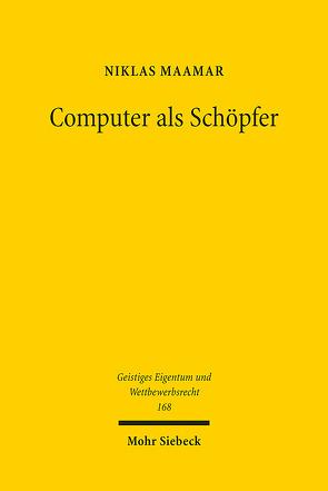 Computer als Schöpfer von Maamar,  Niklas