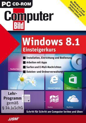 ComputerBild: Windows 8.1 Einsteigerkurs