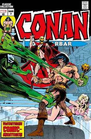 Conan der Barbar: Classic Collection von Adams,  Neal, Thomas,  Roy