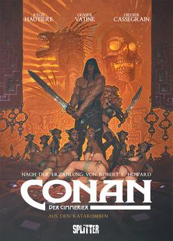 Conan der Cimmerier: Der Rote Priester von Cassegrain,  Didier, Hautière,  Régis, Howard,  Robert E., Vatine,  Olivier