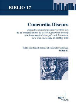 Concordia Discors I von Bolduc,  Benoît, Goldwyn,  Henriette