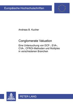 Conglomerate Valuation von Kucher,  Andreas