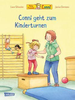 Conni-Bilderbücher: Conni geht zum Kinderturnen von Görrissen,  Janina, Rueda,  Marc, Schneider,  Liane