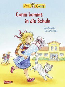 Conni-Bilderbücher: Conni kommt in die Schule (Neuausgabe) von Görrissen,  Janina, Schneider,  Liane