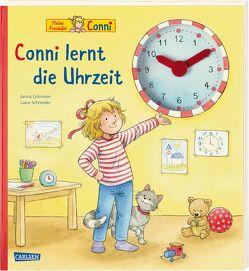 Conni-Bilderbücher: Conni lernt die Uhrzeit von Görrissen,  Janina, Rueda,  Marc, Schneider,  Liane