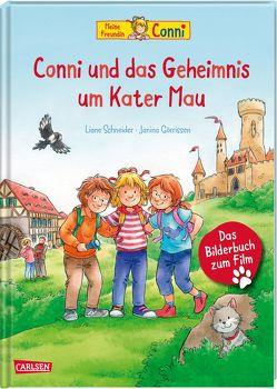 Conni-Bilderbücher: Conni und das Geheimnis um Kater Mau von Görrissen,  Janina, Rueda,  Marc, Schneider,  Liane