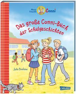 Conni-Erzählbände: Das große Conni-Buch der Schulgeschichten von Albrecht,  Herdis, Boehme,  Julia