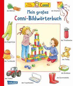 Conni-Bilderbücher: Mein großes Conni-Bildwörterbuch von Görrissen,  Janina, Hofmann,  Julia