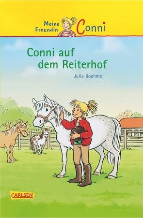 Conni-Erzählbände 1: Conni auf dem Reiterhof von Albrecht,  Herdis, Boehme,  Julia