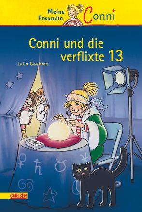 Conni-Erzählbände 13: Conni und die verflixte 13 von Albrecht,  Herdis, Boehme,  Julia