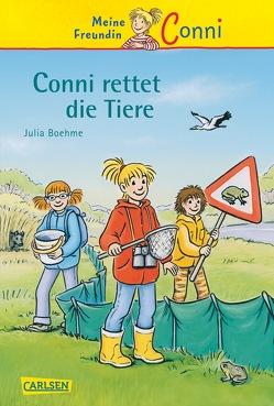 Conni-Erzählbände 17: Conni rettet die Tiere von Albrecht,  Herdis, Boehme,  Julia