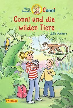 Conni-Erzählbände 23: Conni und die wilden Tiere (farbig illustriert) von Albrecht,  Herdis, Boehme,  Julia