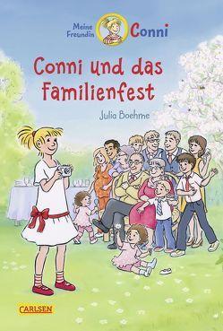 Conni-Erzählbände 25: Conni und das Familienfest (farbig illustriert) von Albrecht,  Herdis, Boehme,  Julia