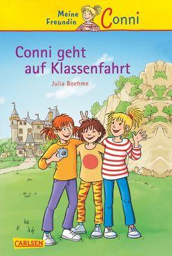 Conni-Erzählbände 3: Conni geht auf Klassenfahrt von Albrecht,  Herdis, Boehme,  Julia