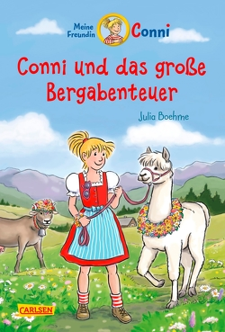 Conni-Erzählbände 30: Conni und das große Bergabenteuer von Albrecht,  Herdis, Boehme,  Julia