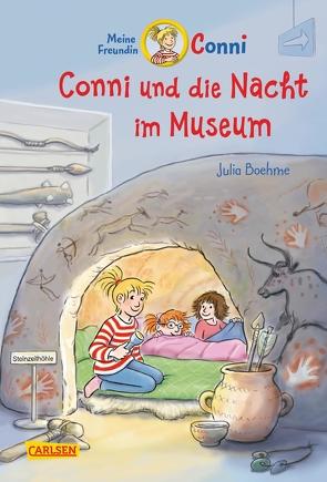 Conni-Erzählbände 32: Conni und die Nacht im Museum von Albrecht,  Herdis, Boehme,  Julia