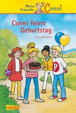 Conni-Erzählbände 4: Conni feiert Geburtstag von Albrecht,  Herdis, Boehme,  Julia